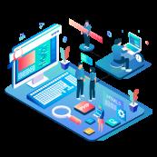 Webutvikling illustrasjon